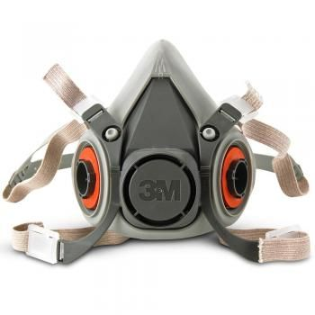 3M 6200 MEDIUM Half Face Piece Reusable Respirator