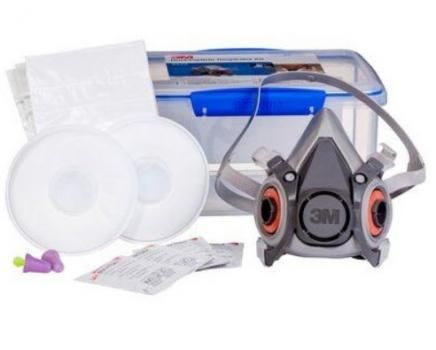 3M 6225 Dust/ Particle Half Face Kit (suitable for silica dust)