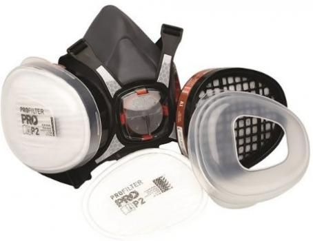 Prochoice Maxi Mask Trade Kit - Includes Face Respirator and A1P2 Filters