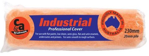 Industrial 360mm Roller Sleeve / Roller Cover x 12mm Pile
