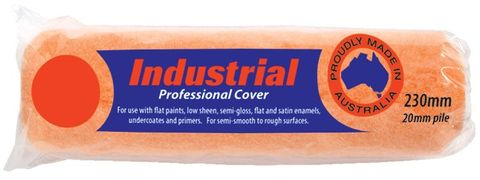 Industrial 460mm Roller Sleeve / Roller Cover x 20mm Pile