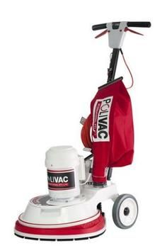 Polivac PV25 Suction Floor Polisher, High Speed
