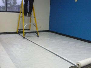 Polyweave Protection Cover Roll - 16Kg, 4.0m x 50m (thickness: 80gsm)