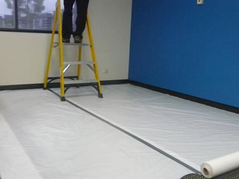 Polyweave Protection Cover 915mm x 50m Roll (80gsm) White