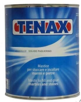 Tenax Beige Solido Kit - Includes 1 Litre Adhesive paste used for glueing and repairing Stone and 45mL Hardener