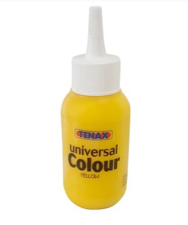 Tenax Universal Colour For Epoxy and Polyester glues 75ml Yellow