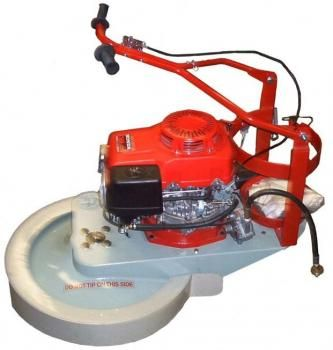 """WGB 21"""" Gas Burnisher with Honda GXV390 LPG converted engine Includes: Skirt, Vacuum Bag, Battery Charger"""