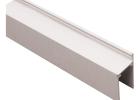 FastWall Single Door Jamb 5.4m Off White Aluminium Section To suit 30mm Panels Door Seal Option