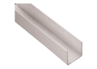 FastWall Top Track / Wall Starter for 30mm panel 3.0m x 50mm Deep - Off White Aluminium Section