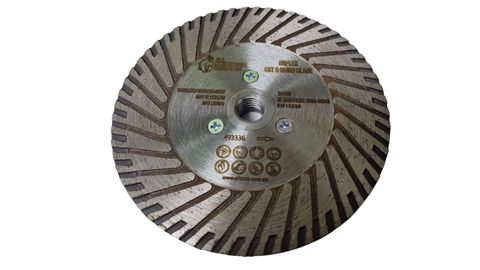 """125mm (5"""") Duplex Cutting and Grinding 30/40 grit Blade with M14 thread"""