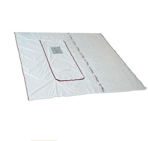 Zipwall ZipFast Hatch Panel. 3.04m - 3.04m high reusable panel with built in zippered hatch.