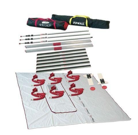 Zipwall Hallway Dust Barrier Kit.