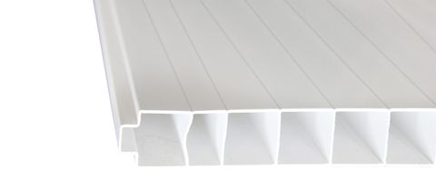 FastWall PVC Panel 2.4m x 300mm x 30mm - White - Tongue and Groove