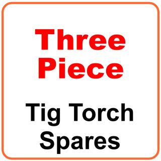 Three Piece Tig Torch Spares