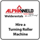 Hire a Turning Roller