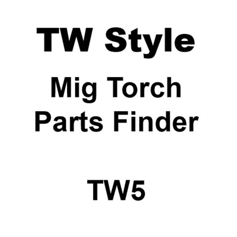 TW5 Style Mig Torch Spares