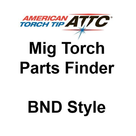 Lightning BND Style Mig Torch Spares