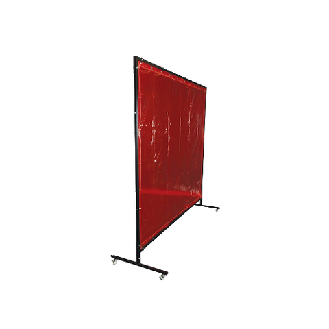 Red Welding Screen & Frame Kit
