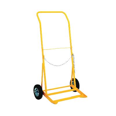 Cylinder Trolley G Size Pnuematic Wheels