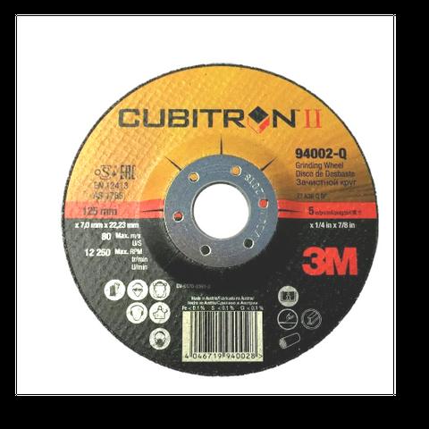 3M Cubitron II Grinding Disc 125x7x22mm