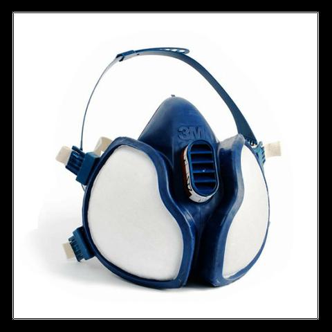 3M A1P2 Disposable Half Face Respirator