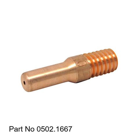 Sumig E-Cu Long Contact Tip 1.0mm