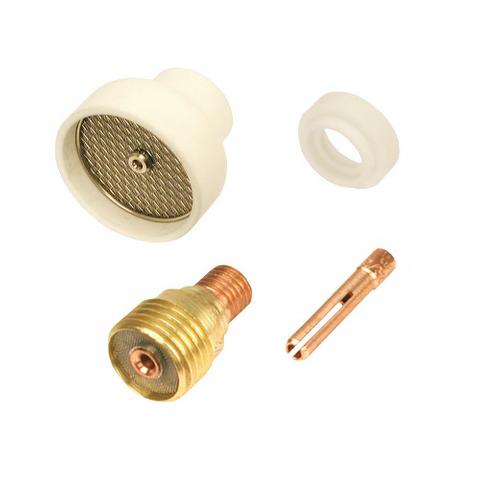 Champagne Nozzle Tig Torch Kit 1/16