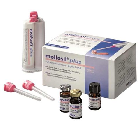 Mollosil Plus - Soft relining silicone kit