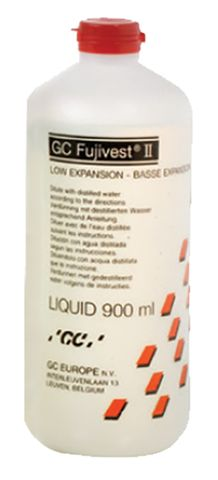 Fujivest II Low Expansion Liquid 900mL