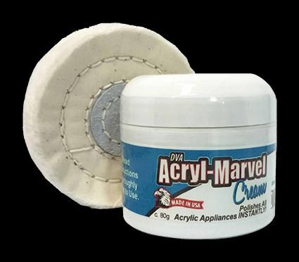 Acryl Marvel Denture Cream 80g + Buff