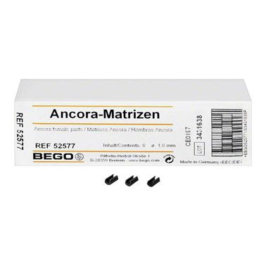 Ancora Female Part 1.6mm 6pcs