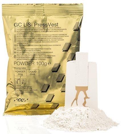 GC LiSi Pressvest Powder 100g 60pcs