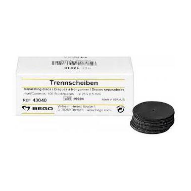 Separating Discs 25 X 0.5 mm, 100pcs