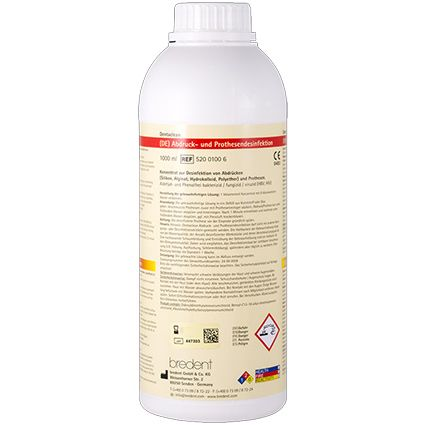 Impression and Denture Disinfectant 1L