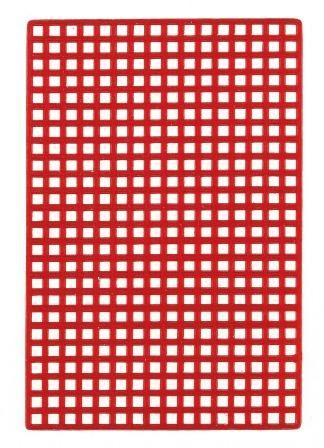 Wax Grid Retentions 60x42 mm 25pcs