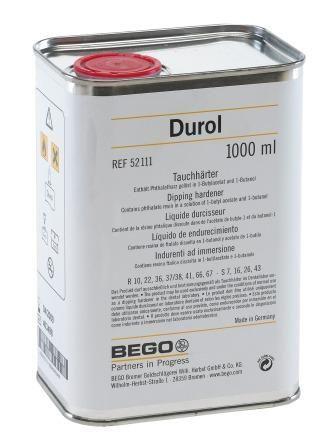 Durol Dipping Hardener 1L Expired 11/18