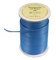 Reel of Wax Pattern 2.5mm Blue Medium