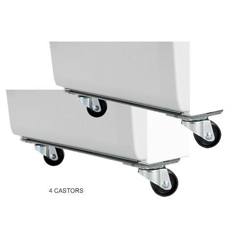 Castors Silent Dust Extractor 4pcs