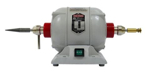 Handler Red Wing Lathe 28L with 2 x Chucks