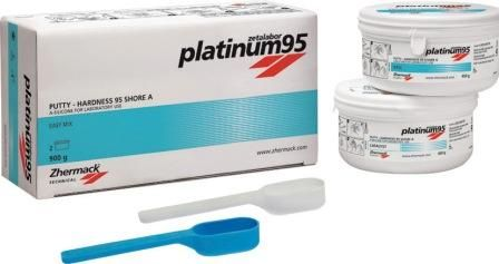 Platinum 95 Laboratory Putty 1kg Base +1kg Catalyst