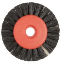 Polishing Brush Black 2 Row 45mm 12pcs