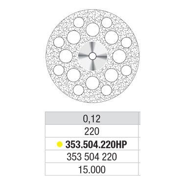 Diam Disc Superflex 353.504.220 22DIAM
