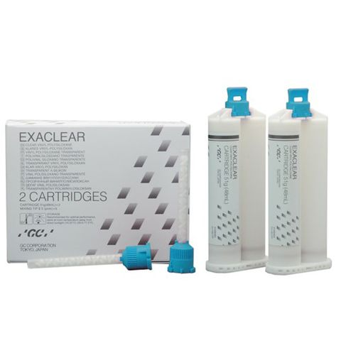 Exaclear Bite Registration Clear 48mL 2pcs