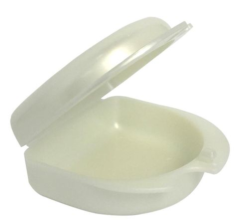 Mouthguard Box Pearl White 30mm Deep 1pce