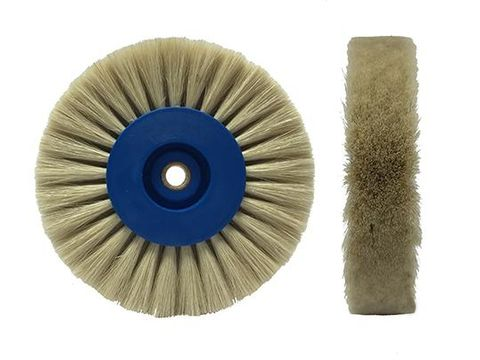 Brush Goat Hair White 80mm 12pcs