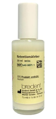 Retention Adhesive White 20mL