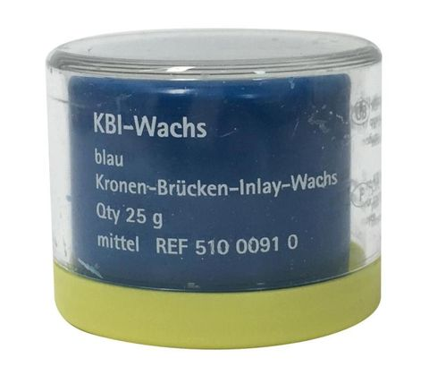 KBI Wax-Blue Medium C&B Wax 25g