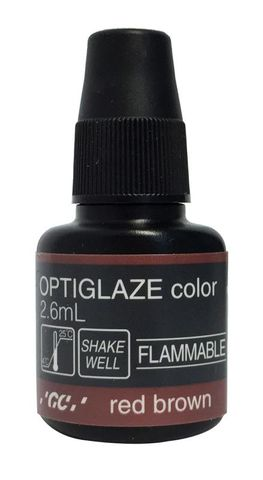 GC Optiglaze Colour Red Brown 2.6mL