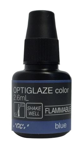 GC Optiglaze Colour Blue 2.6mL