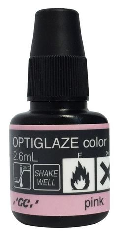 GC Optiglaze Colour Pink 2.6mL